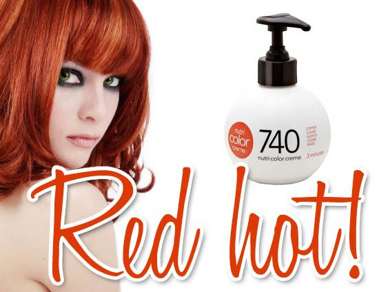Ongekend Revlon Professional Nutri Colour Creme in 740 for Red Hair Review KF-31