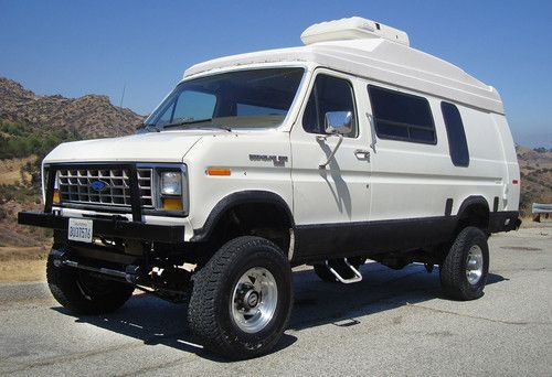 Make Ford Model E 350 And Econoline 350 Year 1990 Exterior