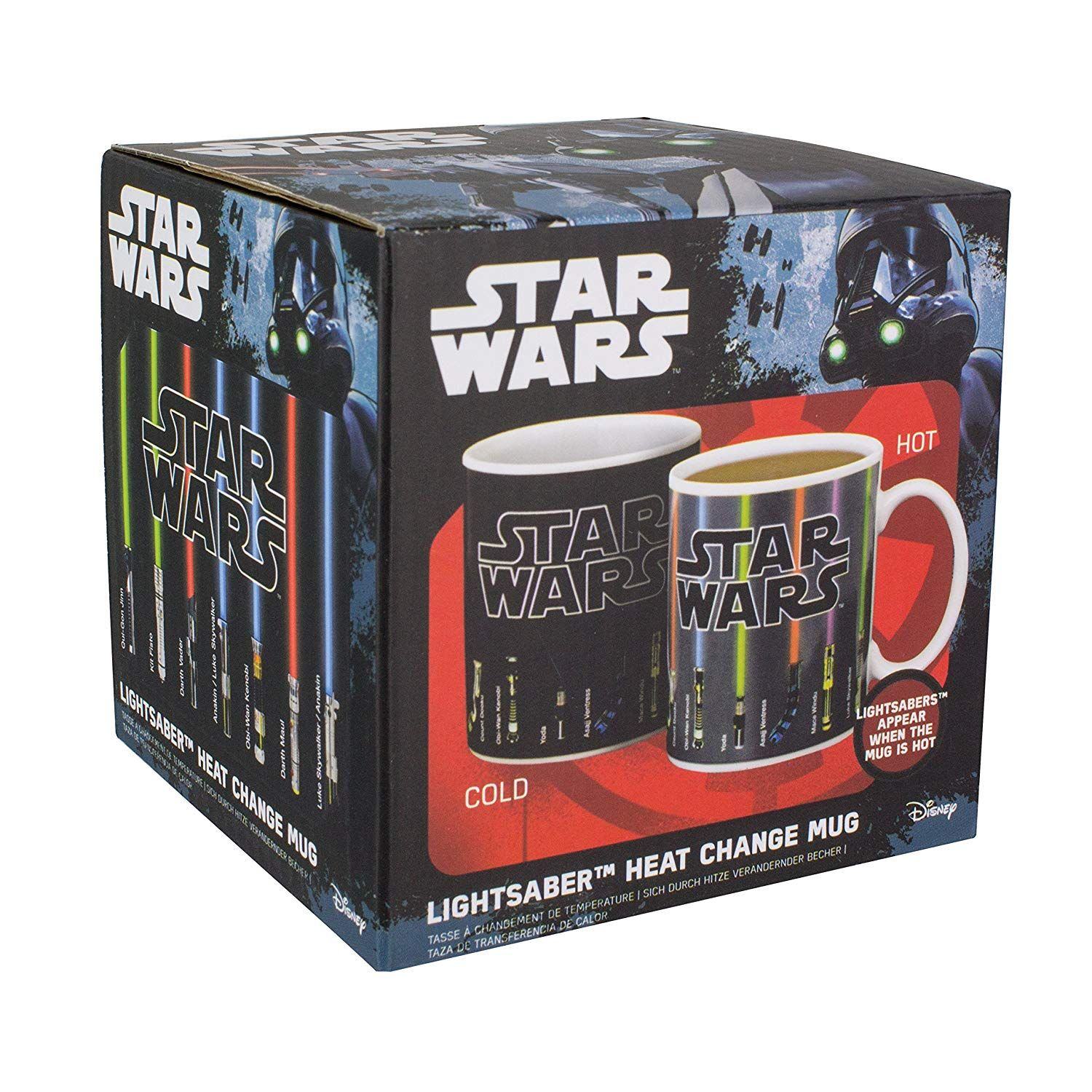 Add a hot drink to see the lightsabers appear features