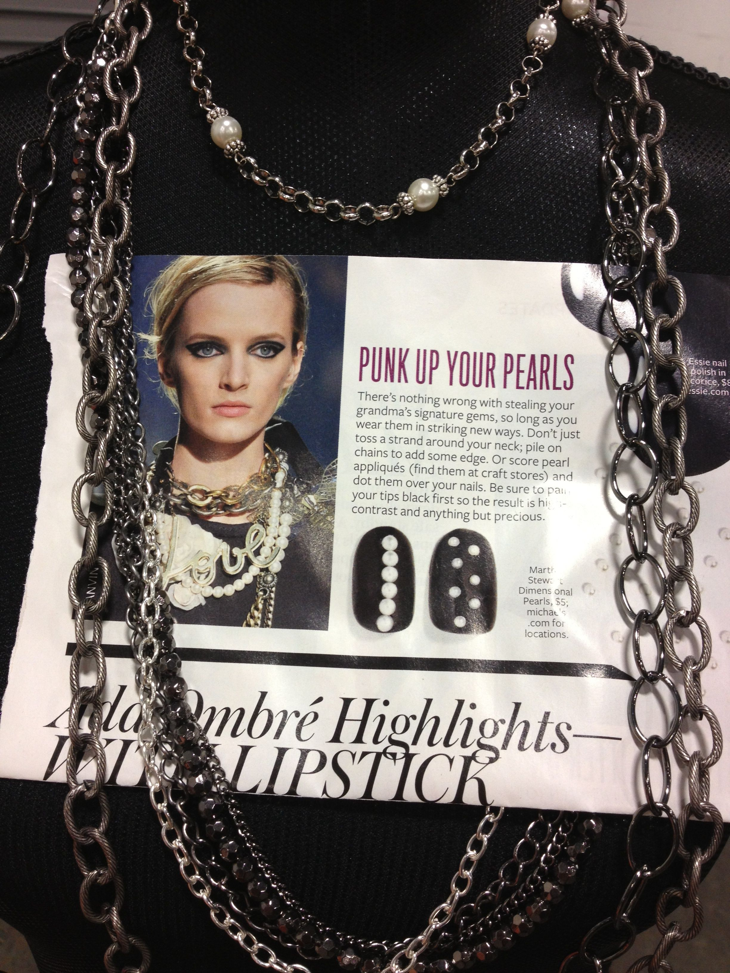 Pin By Autumn Lexer On Mialisia Pearls Craft Stores Punk