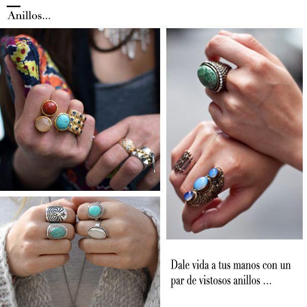 anillos de moda - Google Search
