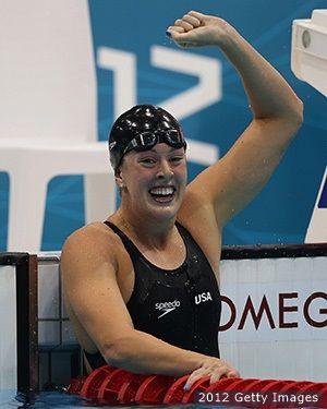 JJ OO Londres 2012. Allison Schmitt (Estados Unidos - Natación), 3 medallas de oro, una de plata y una de bronce.