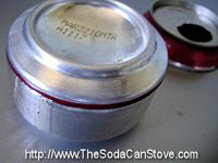 soda can stove. Perfect for emergency preparedness and camp outs!