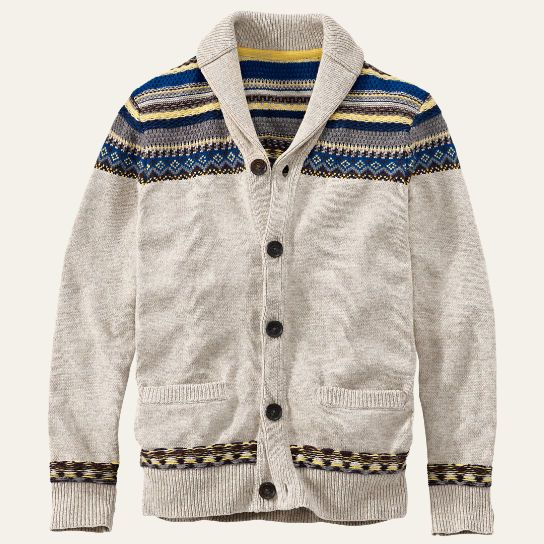Knox River Fair Isle Cardigan Sweater
