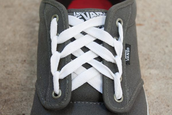 cool shoelace styles for vans