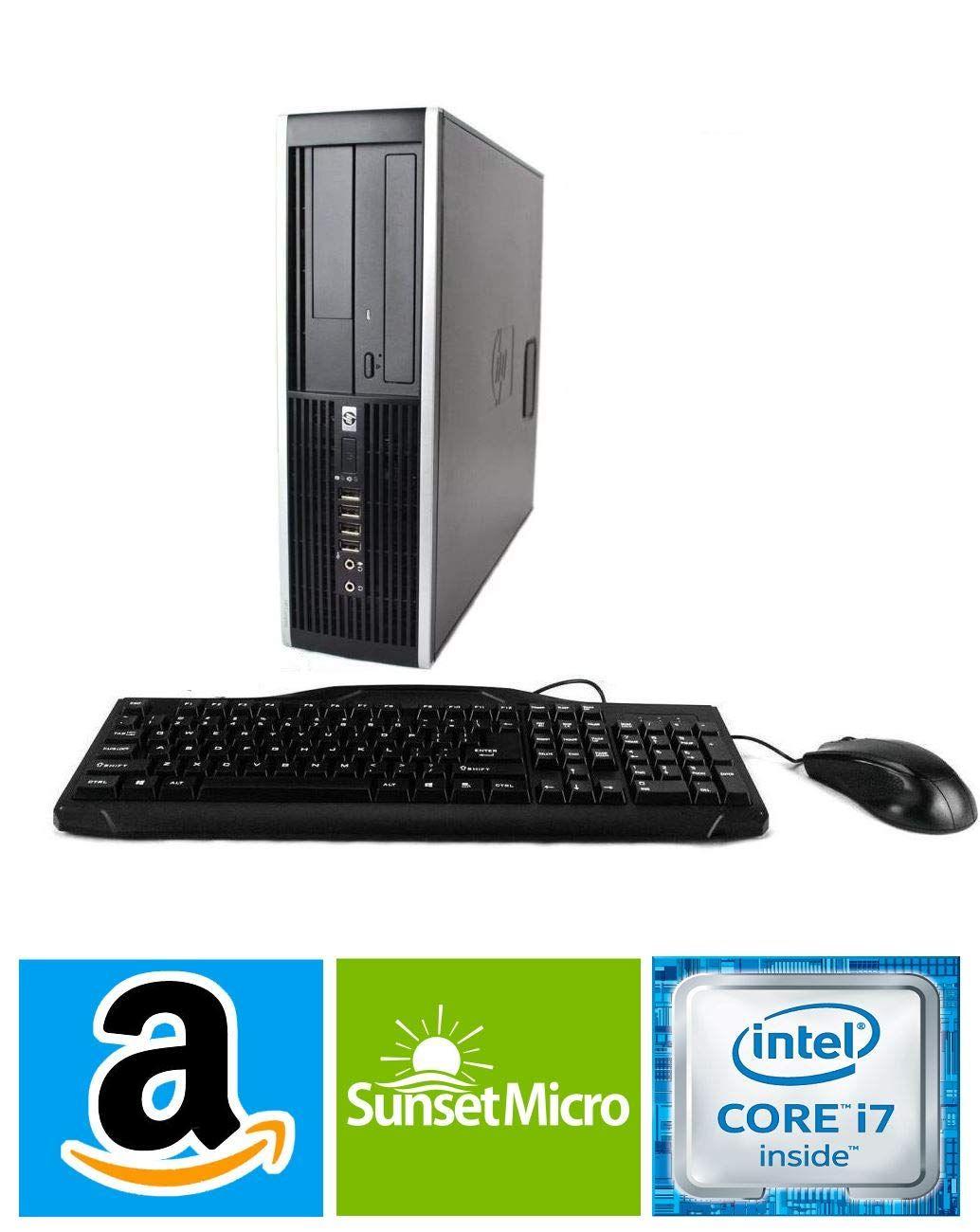 Hp Elite 8300 Sff Small Form Factor Business Desktop Computer Intel Quad Core I7 3770 Up To Computer Desktop Computers Compaq