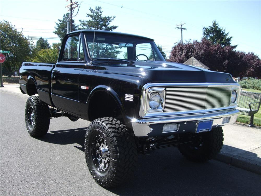 72 Chevy Truck For Sale >> 1972 Chevrolet Cheyenne Custom 4x4 Pickup Chevy Trucks