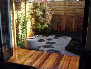 Designer Andrew Fenney Design Eden Small Modern Courtyard