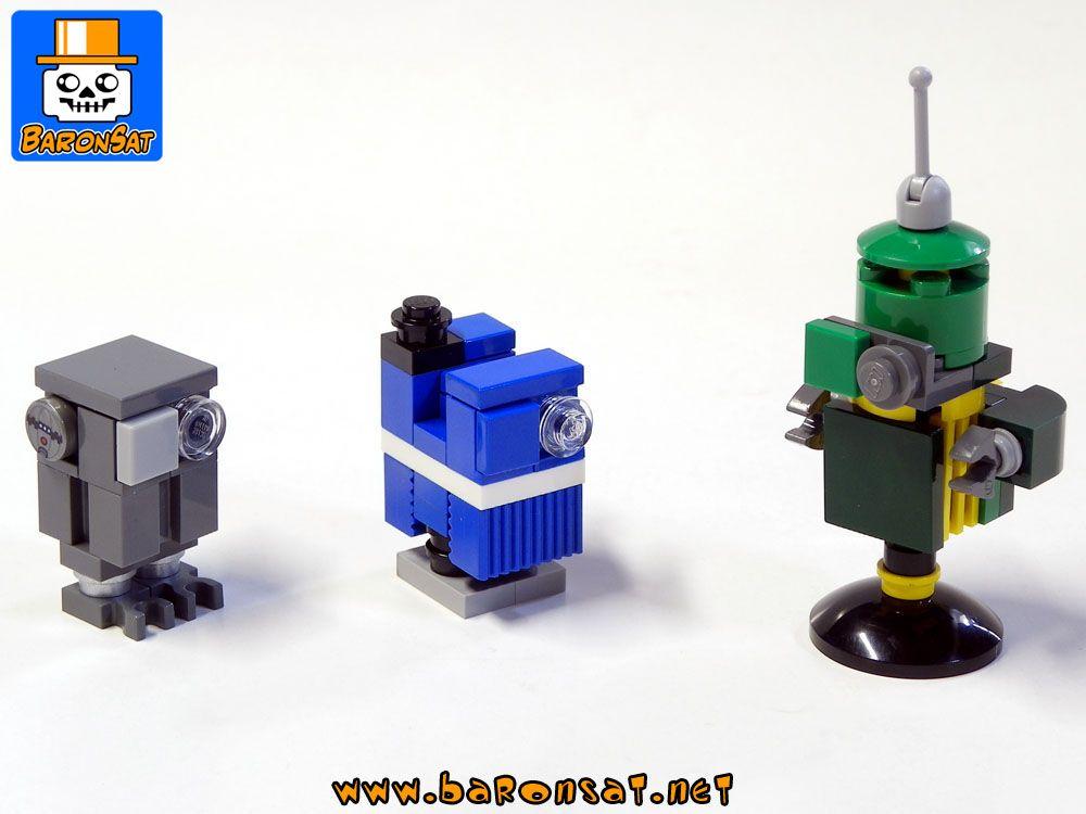 Droids By Baronsat On Eurobricks Lego Custom Lego Lego Star