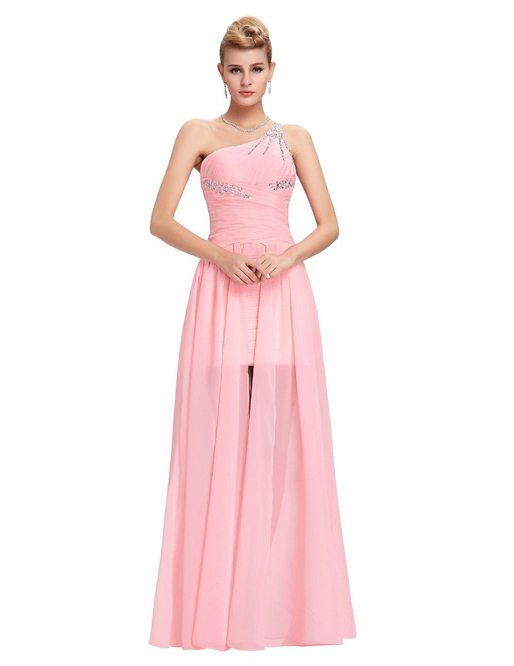 Beaded Chiffon Bridesmaid Dresses