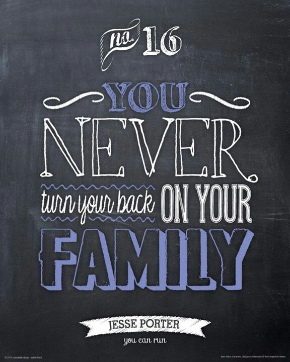 You Never Turn Your Back On Your Family Burnnotice Jesseporter