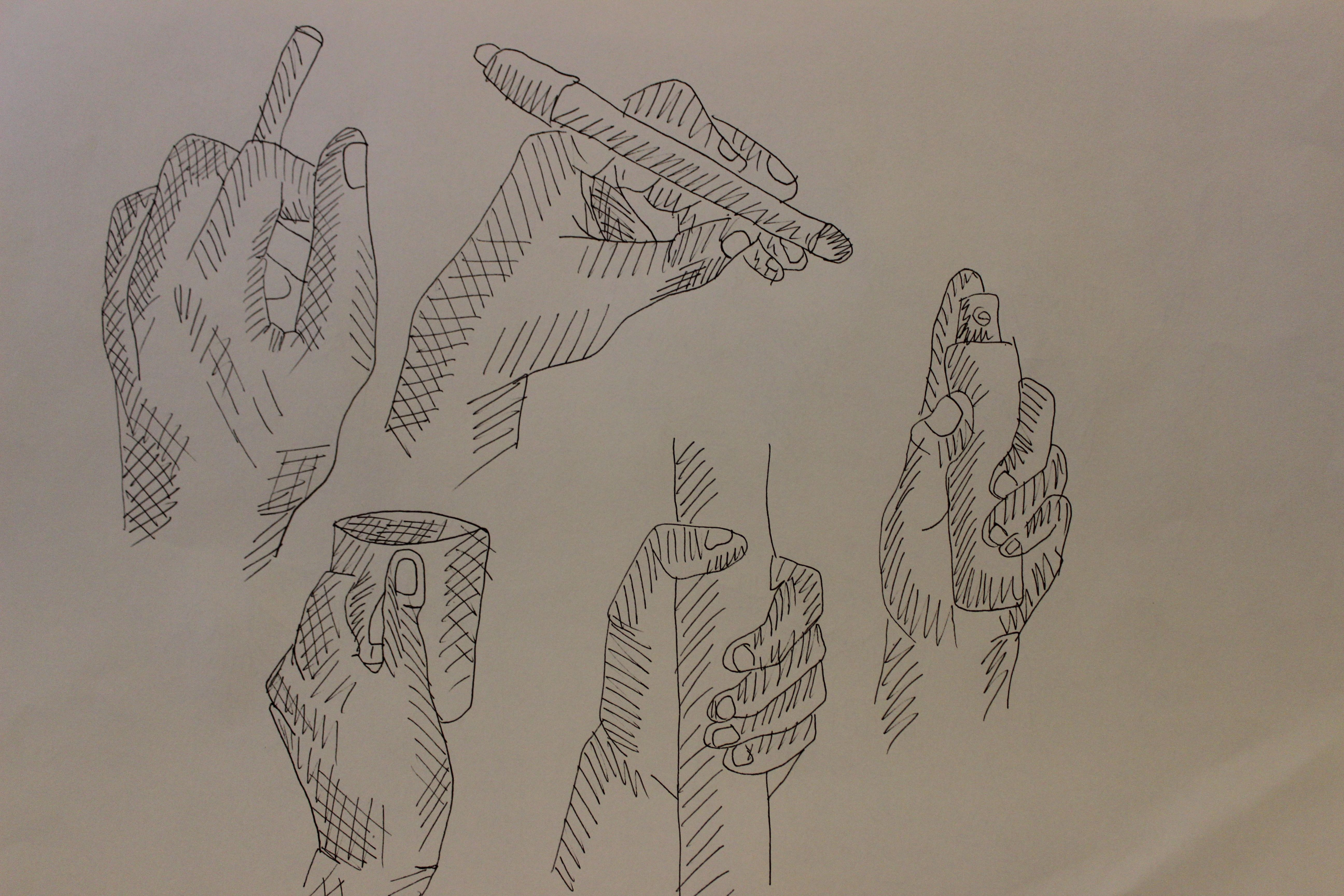 Line Drawing Holding Hands : Sketch just line human body drawing hands holding something