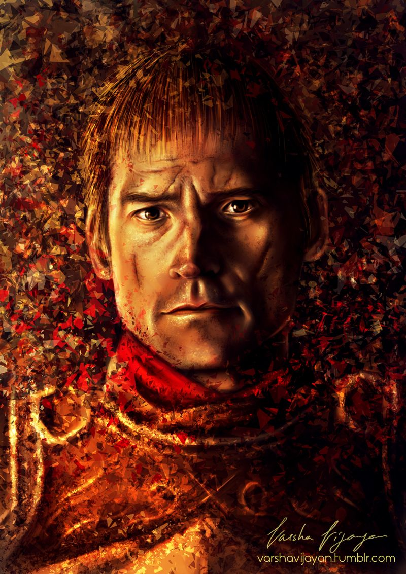 Jaime Lannister By Slashaline On Deviantart Lannister Digital Painting Jaime Lannister