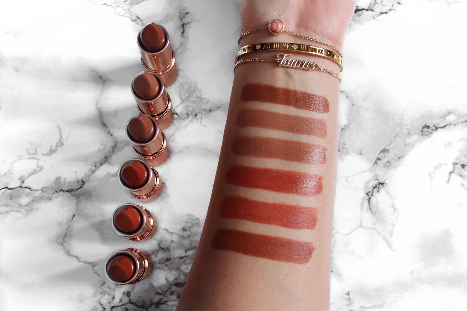 Makeup Revolution Renaissance Lipsticks | Review makeupcontainers