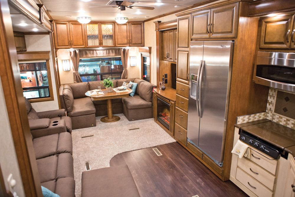 New Fifth Wheel And Travel Trailers For 2013 Were Unveiled At The RV  Industryu0027s Annual Trade Show. The Recreation Vehicle Industry Association  (RVIA).