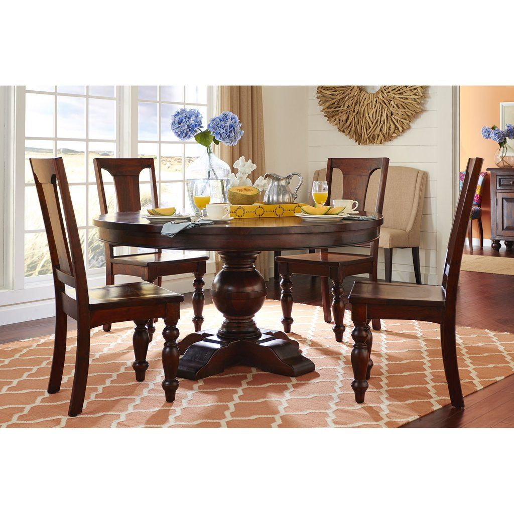 Chatham Downs Traditional Dining Set Round Dining Room Sets