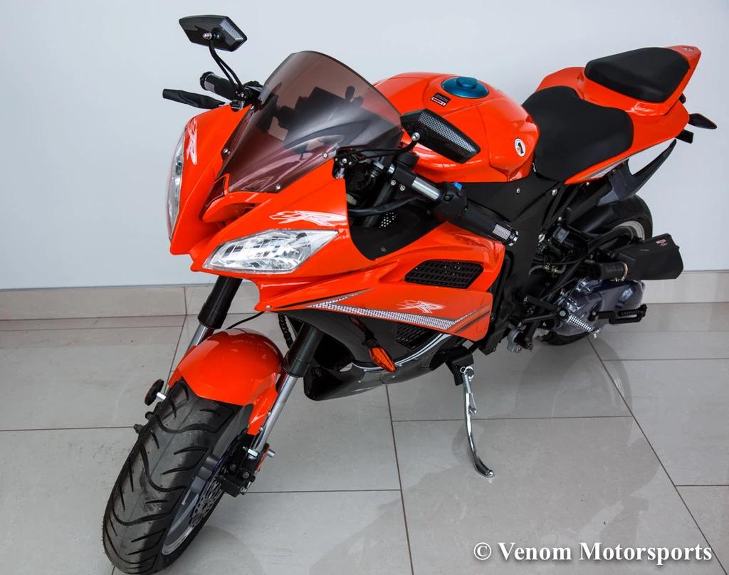 2019 Venom X18 50cc Automatic Motorcycle Street Legal Super Pocket Bike Pocket Bike 50cc 50cc Scooter For Sale