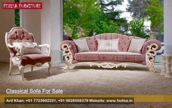 Set Sofa Moden Clic Traditional Fedisa