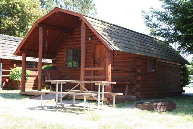 2 Room Rustic Camping Cabin Santa CruzMonterey Bay KOA