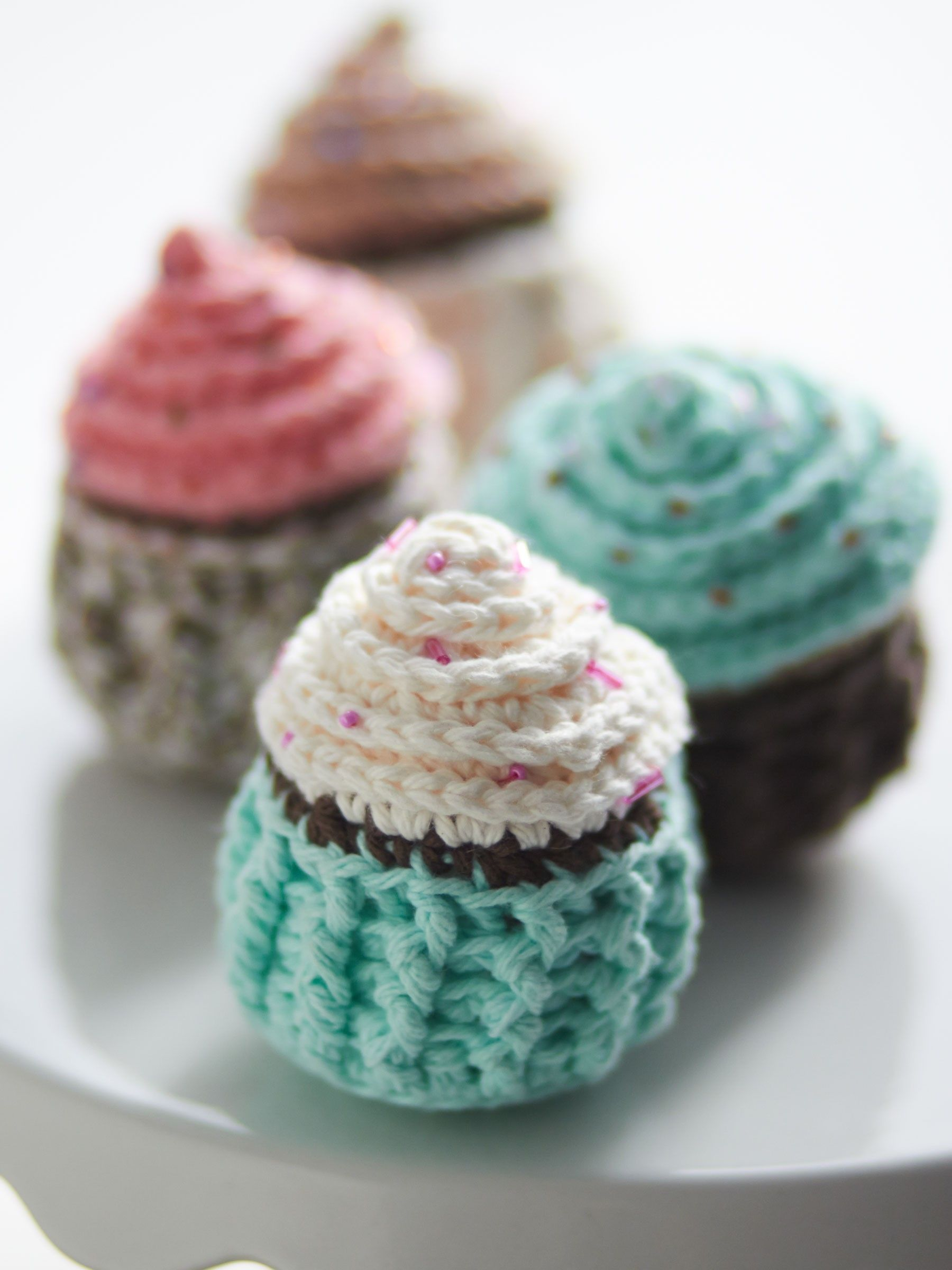 Yarnspirations.com - Lily Let Them Eat Cupcakes - Patterns    Yarnspirations