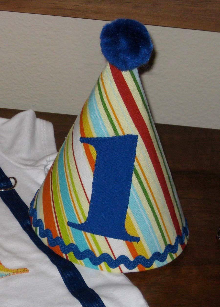 custom birthday hat first birthday party 1st birthday outfit toddler