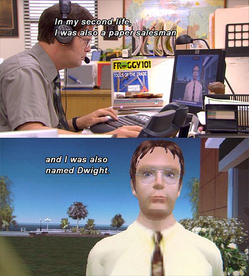 16 Funny Tv And Movie Screencaps 10 7 11 Best Of The Office Second Life Giggle