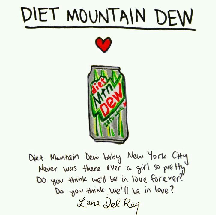 Lana Del Rey - Cola Lyrics