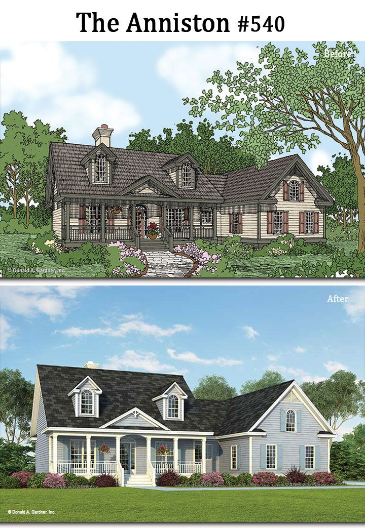 Before and After rendering for The Anniston