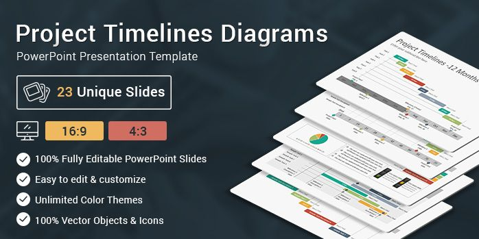 Project Timelines Diagrams PowerPoint Presentation Template Key - project timelines