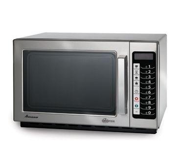 Amana Microwave Oven 1000 Watts 5 Power Levels Rcs10ts Amana Commercial Microwave Oven 1000 Watts Commercial Kitchen Equipment Microwave Microwave Oven