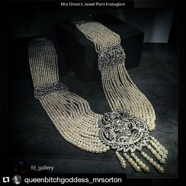 A Natural Pearl, Cultured Pearl and Diamond Sautoir Necklace, with 2,232 natural pearls and 94 cultured pearls. #SothebysJewels #NaturalPearls queenbitchgoddess_mrsorton