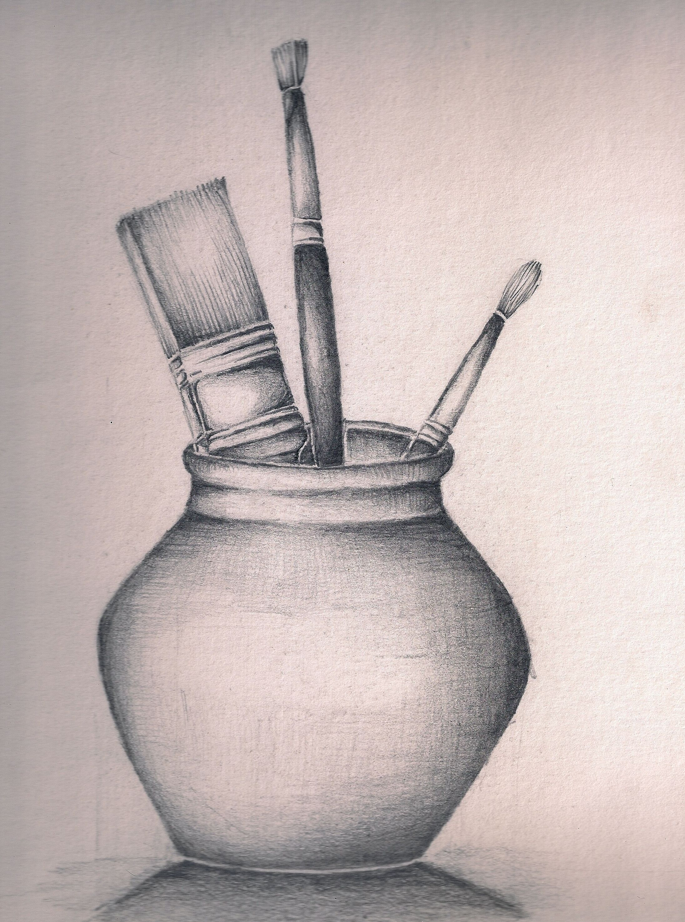Afbeeldingsresultaat Voor Easy Pencil Drawing Still Life Drawing Still Life Pencil Shading Still Life Sketch