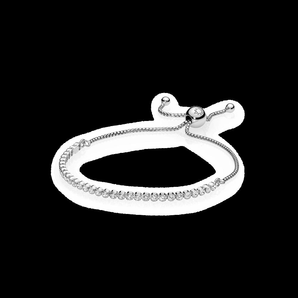 braccialetti donna argento pandora