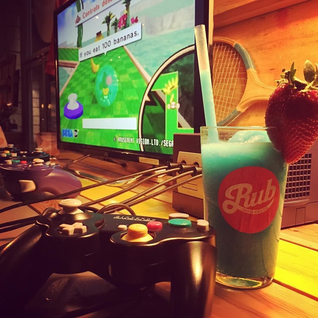 Thanks for the drink @rubyourselfie - Come and play games