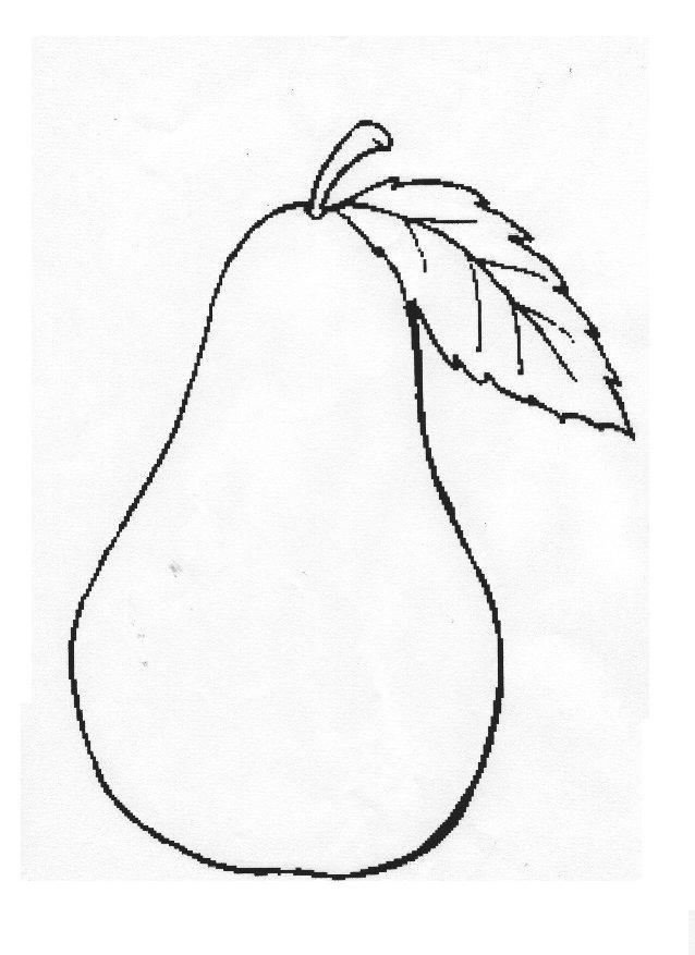 disegni da colorare frutti autunno