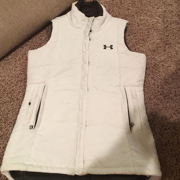 Under Armour Vest White under Armour vest Under Armour Jackets & Coats Vests