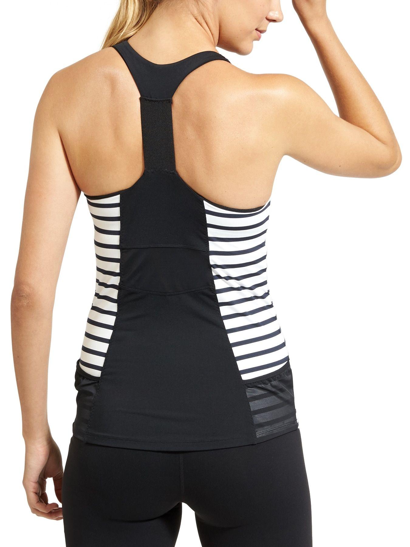 Stripe Ace Racer Activewear fashion, Athleta, Athletic