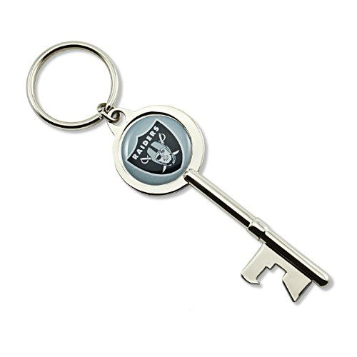 Nfl Oakland Raiders Skeleton Key Bottle Opener Key Ring To View Further For This Item Visit The Image Key Bottle Opener Bottle Opener Keychain Key Keychain