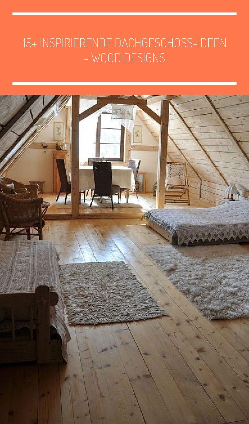 10 inspirierende Dachgeschoss-Ideen Wood Designs Das Wohnzimmer