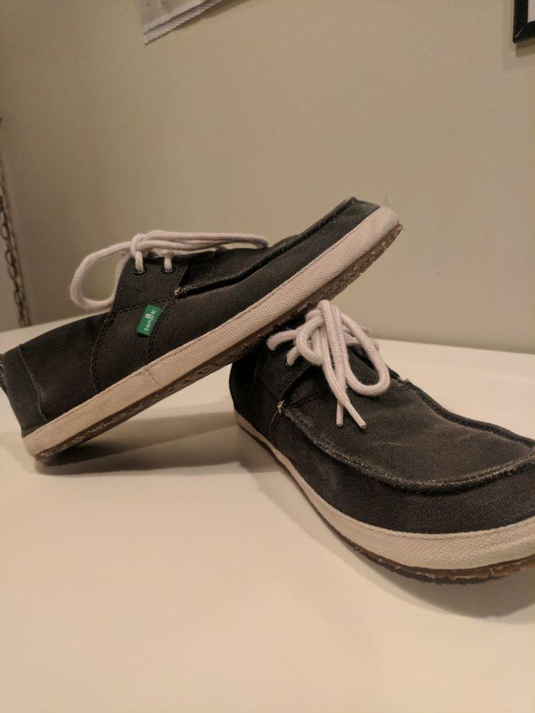 5b32e322459 Sanuk Sea Man Boat Sidewalk Surfer Shoes Men s - Size 10 - Condition Good   fashion