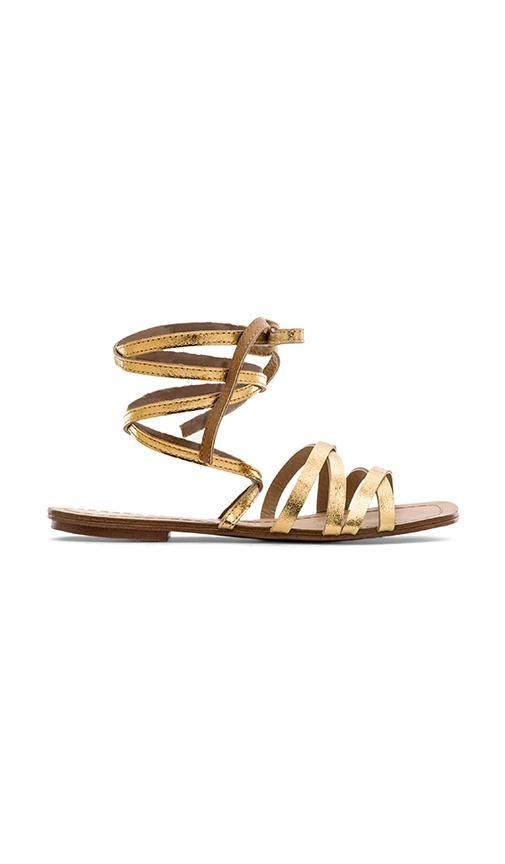 Splendid Tayler Sandal in Gold | REVOLVE