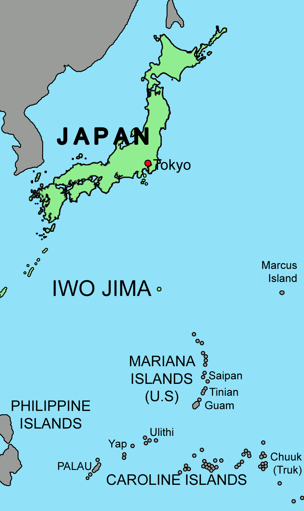 Location of iwo jima in comparison to japan and the philippine location of iwo jima in comparison to japan and the philippine island description from p2t2solutions i searched for this on gumiabroncs Images