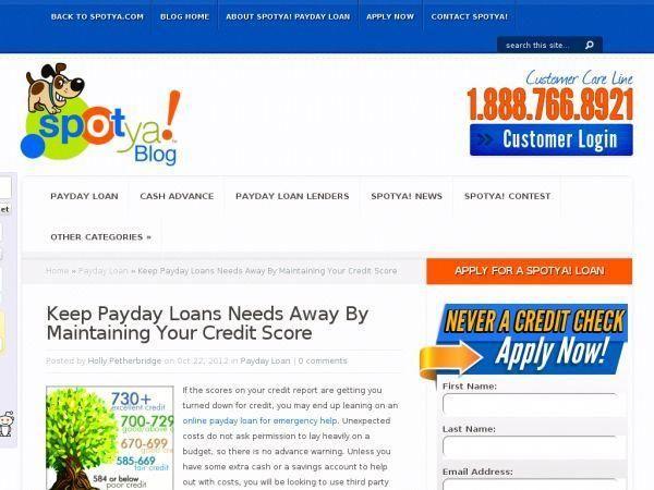 Credit instant online