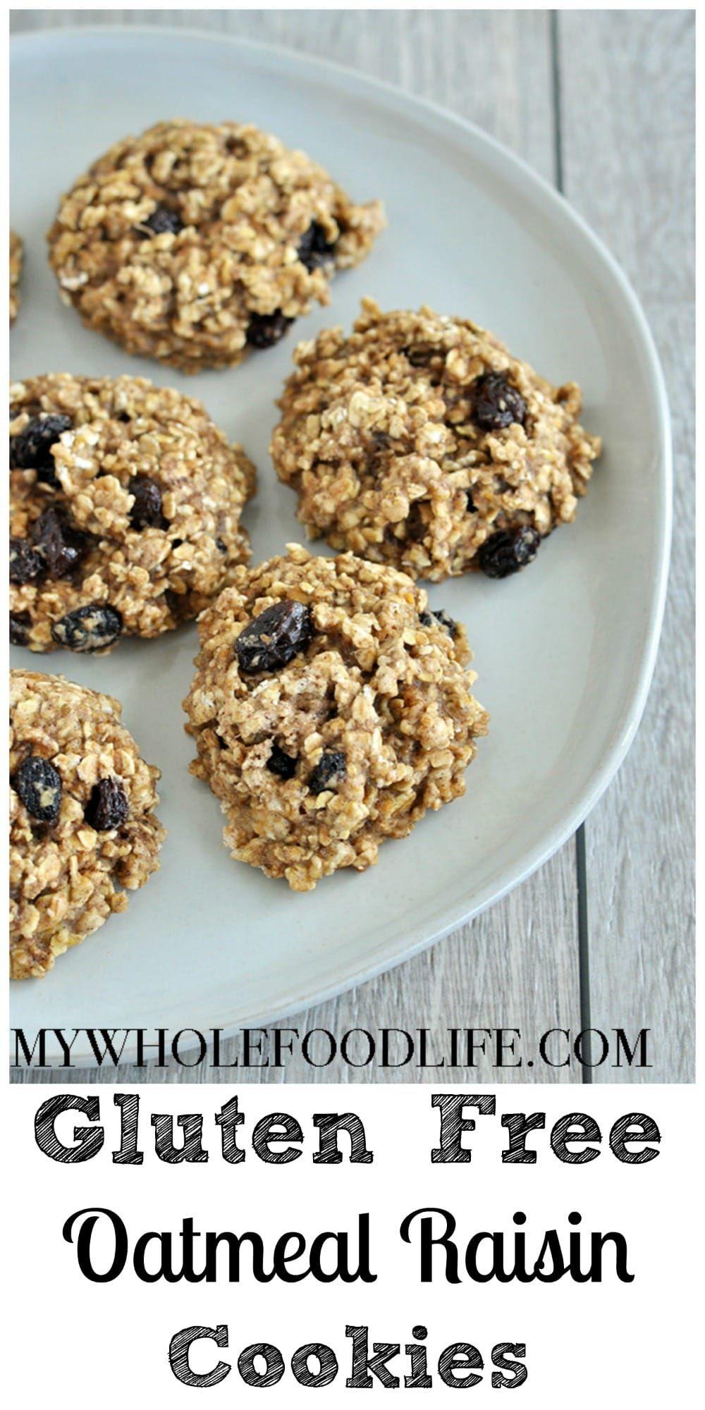 Gluten free oatmeal raisin cookies vegan my whole food