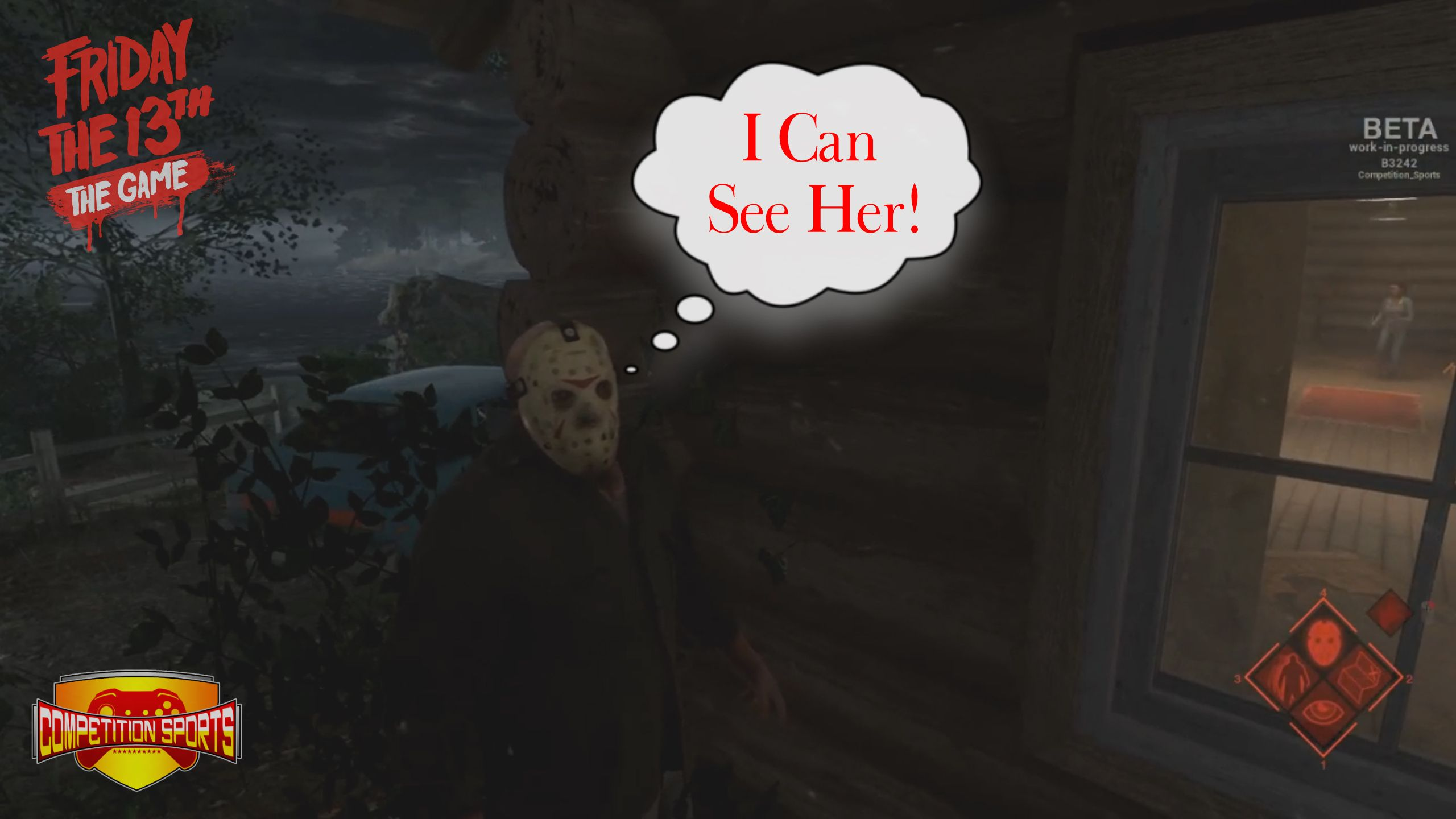 """Friday The 13th """"The Game"""" *Website – http://www.compsports.net/  *Twitch TV – http://www.twitch.tv/competition_sports"""