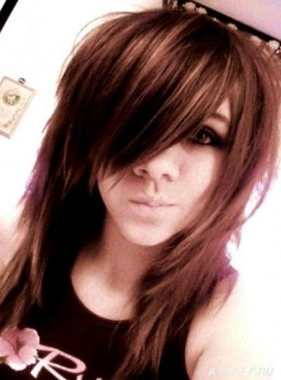 Popular Emo Hairstyles For Long Hair Hairstyles Weekly Medium Hair Styles Hair Styles Medium Scene Hair