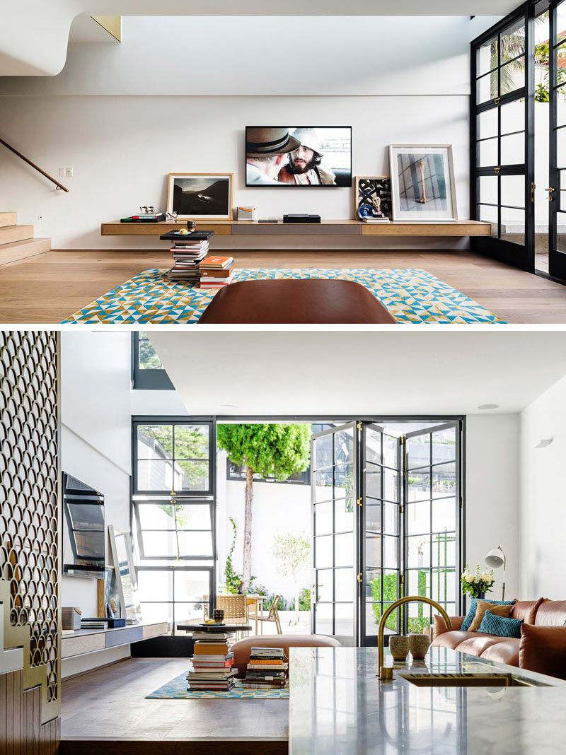 The Contemporary Redesign Of A 1950s House In Sydney   Muebles ...