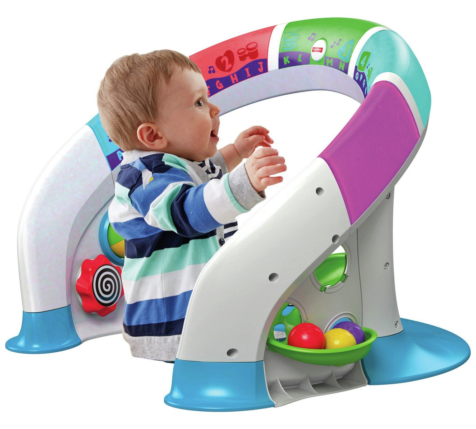 Fisher Price Bright Beats Smart Touch Play Space Playset
