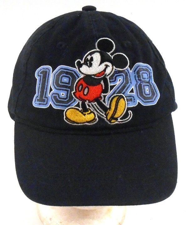 afb6e5e8617 Disney Mickey Mouse 1928 Distressed Toddler Size Strapback Adjustable Cap  Hat  Disney  Beanie