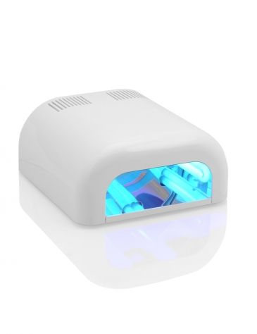 The Uv Lamp From Nded Is Equipped With A 4 Tube System And Achieves A Total Capacity Of 36 Wa Nail Art Supplies Nail Art Design Gallery Gel Nail Polish Colors